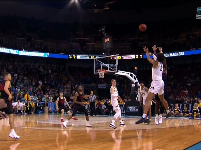 Here's How Jordan Poole's Buzzer-Beating Three-Pointer Sounded On Michigan Radio