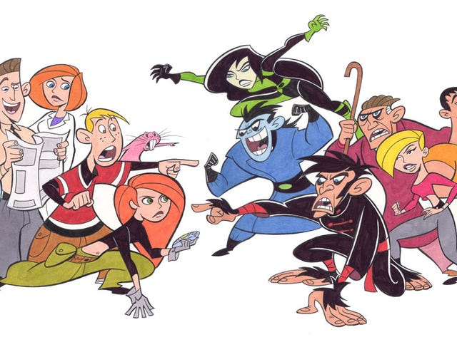 Here's the Sitch: Disney's Working on a Live-Action Kim Possible Movie