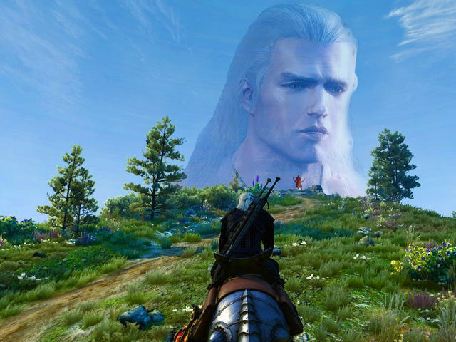 Henry Cavill Is Now Geralt In The Witcher 3, Too
