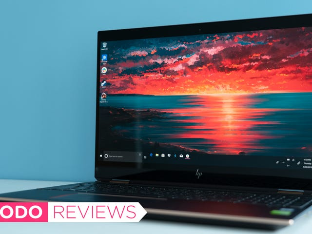 HP Spectre x360 15 Review: A Slick Laptop That's Nearly Ruined by One Stupid Mistake