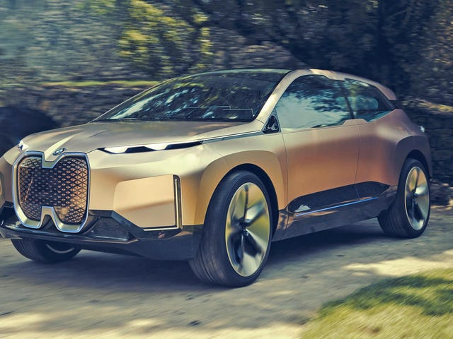 The BMW Vision iNext ConceptIs BMW's Funky Autonomous Electric Crossover Future