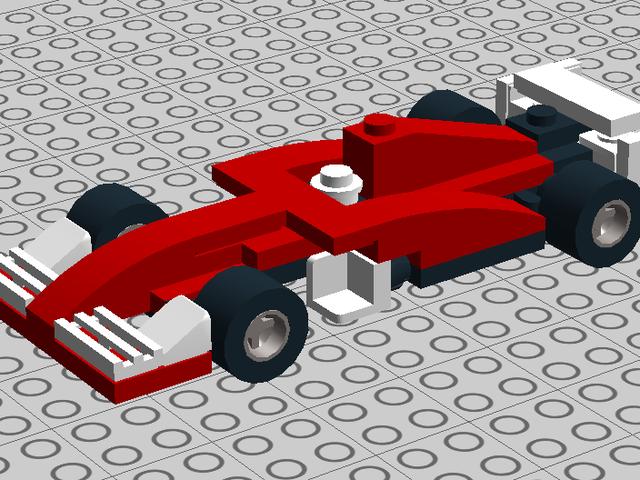 Progress report on the Tiny Turbo Ferrari SF-70H LEGO model