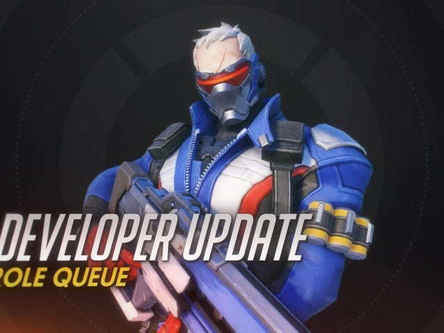 Overwatch director Jeff Kaplan has explained how the new role queue feature will work in-game