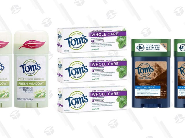 Ditch Your Old Deodorant, Save Up to 30% On Natural Personal Care Products From Tom's