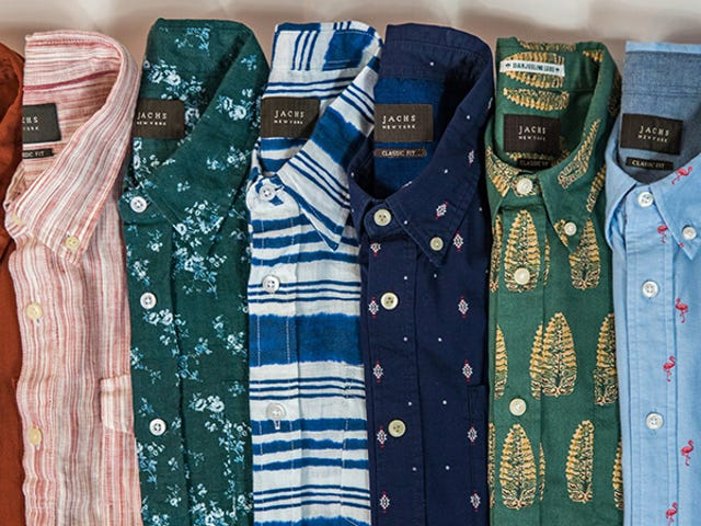 Take 60% Off Lightweight Short Sleeve Button Downs From Jachs (From $24)