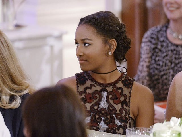 साशा ओबामा मिशिगन विश्वविद्यालय में कथित तौर पर अपनी प्रतिभा को ले जा रही हैं