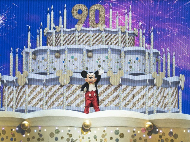 You Haven't Lived Until You've Seen Mickey Mouse Rock Through a Massive Drum Solo