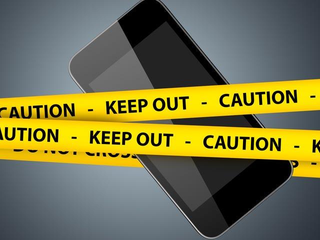 Si vous avez un iPhone, faites-le maintenant - au cas où vous seriez arrêté par la police