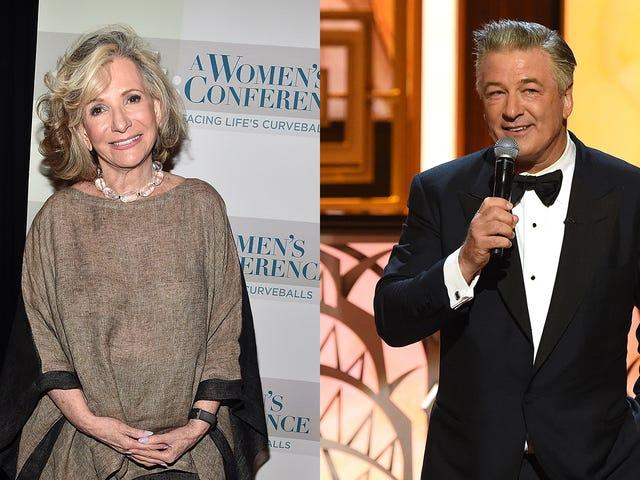 Cet échange entre Alec Baldwin et Sheila Nevins rend exactement l'un d'eux semble étrange