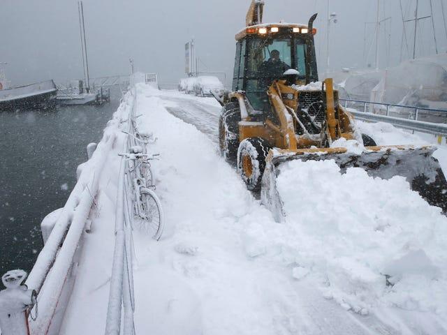 Nyebelin: Pemanasan Global Tidak Akan Membuat Badai Salju Musim Dingin Raksasa Pergi
