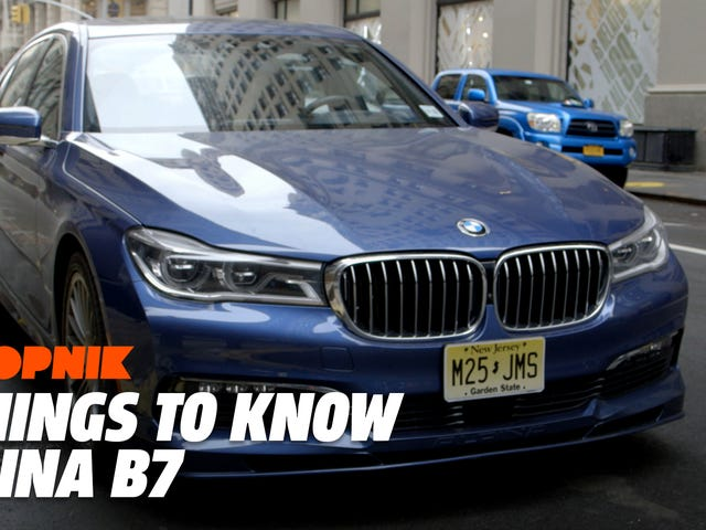 The 600-HP 2018 Alpina B7: Five Things To Know