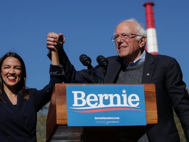 Alexandria Ocasio-Cortez godkendte ikke bare Bernie Sanders