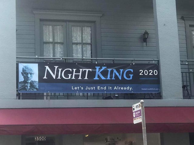 Who Gets Your Vote in 2020: The Night King or Donald Trump?