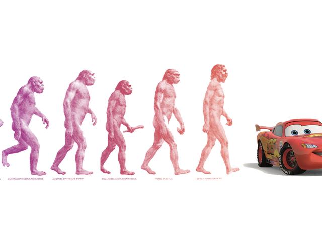 COTD: Edición de evolución humana