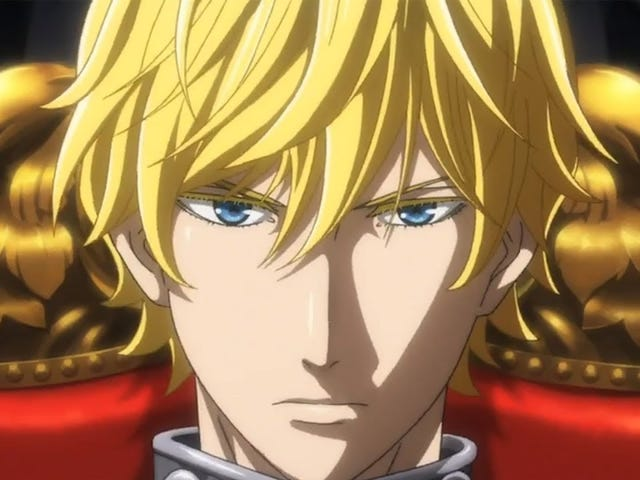The new anime of The Legend of Galactic Heroes will premier this April