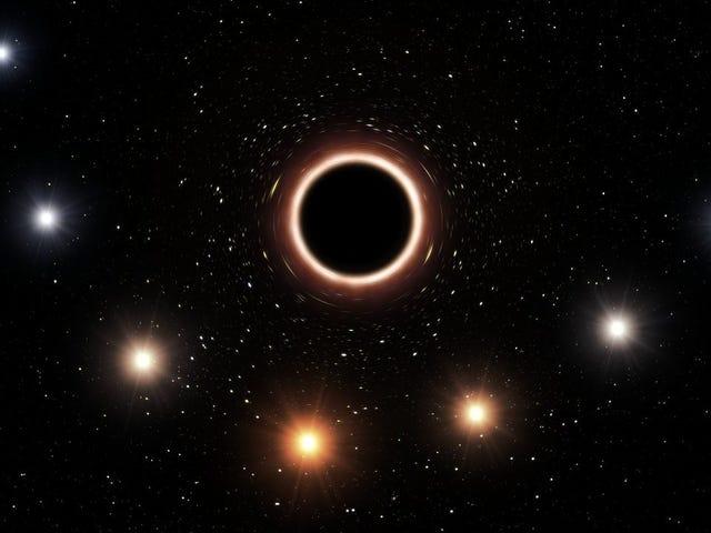 Supermassive Black Hole Stretches Starlight, Proving Einstein Right Again