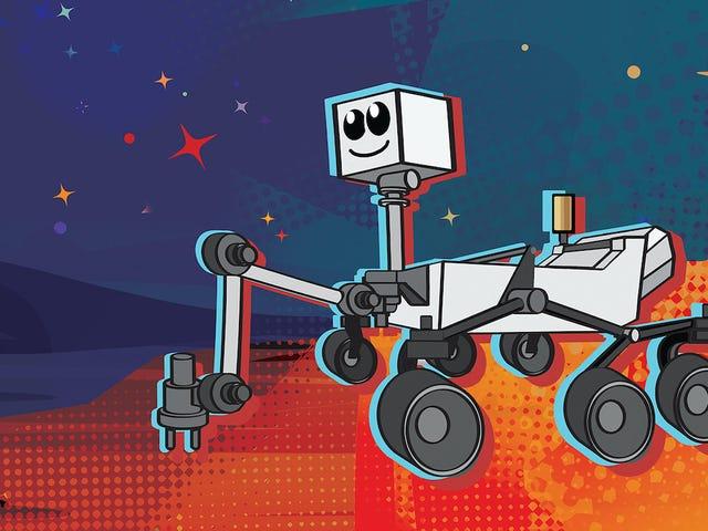 NASA ønsker at du skal velge et av disse 9 navnene til dets nye Mars Rover