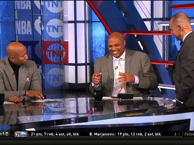 Charles Barkley Uses <i>Inside The NBA</i> To Debut His Jussie Smollett Material