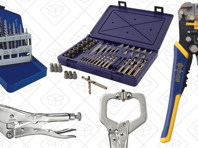 Hãy lựa chọn các công cụ phổ biến của Irwin trong Hộp vàng Amazon ngày nay