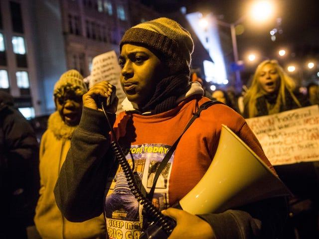 Erica Garner Äänitetty oikeusministeriö kokouksessa Isän Choke Hold Death