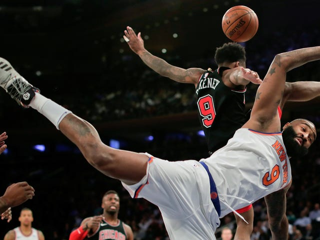 Some Cool Highlights From The Knicks' 18-Point Win