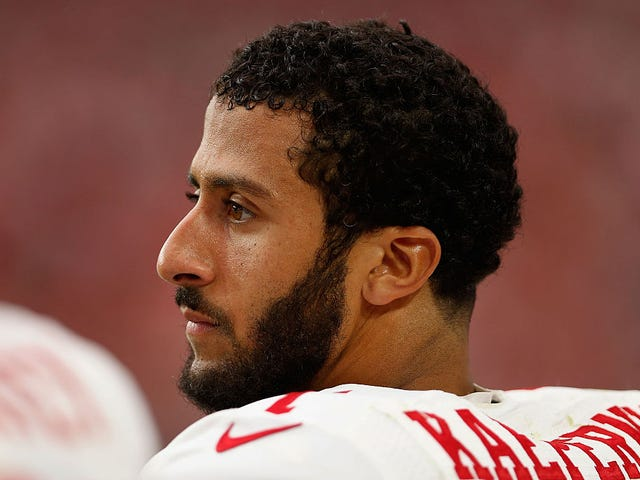 Colin Kaepernick Isn't Too Rich To Protest. This Is America, Remember? We Only Listen To Rich People.