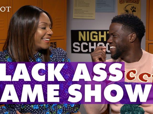 Tiffany Haddish and Kevin Hart Play 'Black Ass Game'
