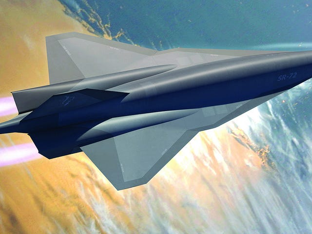 Just Because Lockheed Says They Can Build A Mach 6 Spy Plane Doesn't Mean We Need One