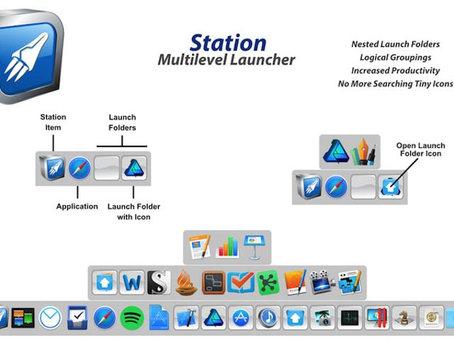 Station Is a Multi-Level Dock Replacement for OS X