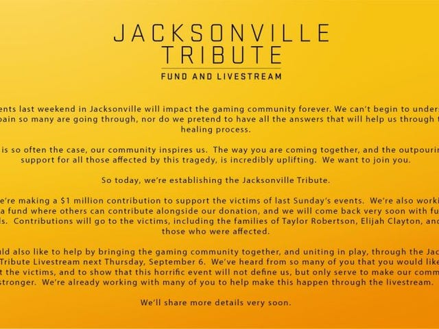 The Jacksonville Tribute Live Stream Information (Happening Tomorrow)