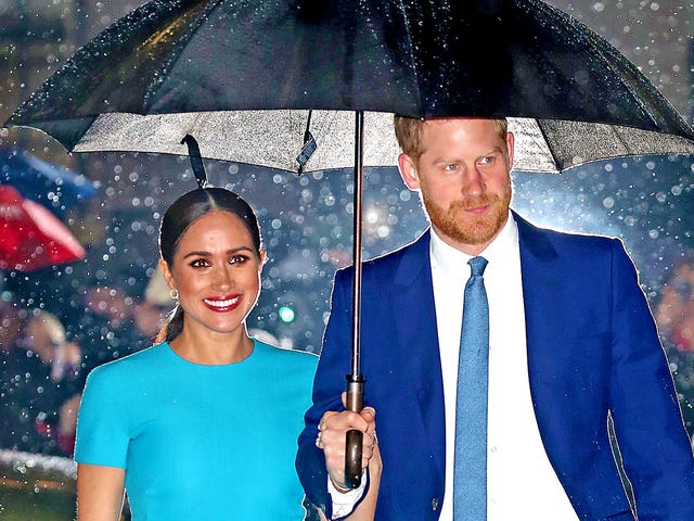 A Bond Villain, and Other Things the Name of Meghan Markle and Prince Harry's New Charity Sounds Like