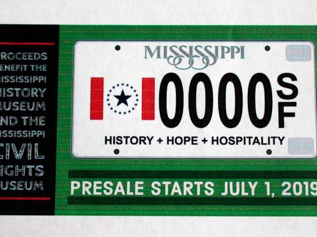 Vous pourrez bientôt obtenir une plaque d'immatriculation dans le Mississippi comportant un drapeau d'État sans le racisme de l'État