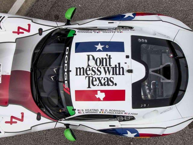 The Do not Mess med Texas Viper er den bedste ting at nogensinde blive tilfældet med Race Cars