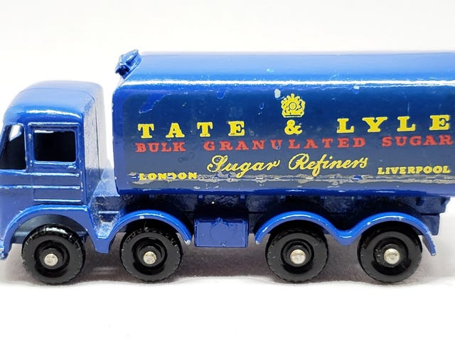 [REVIEW] Lesney Matchbox Foden Sugar Container - another one