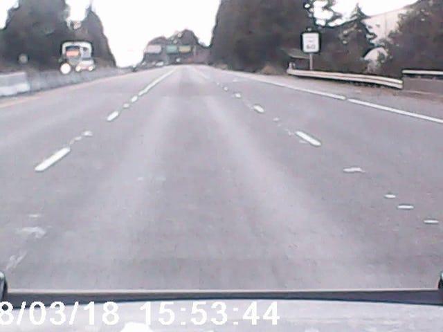 One Mile Dash, trên một máy ảnh crappy.