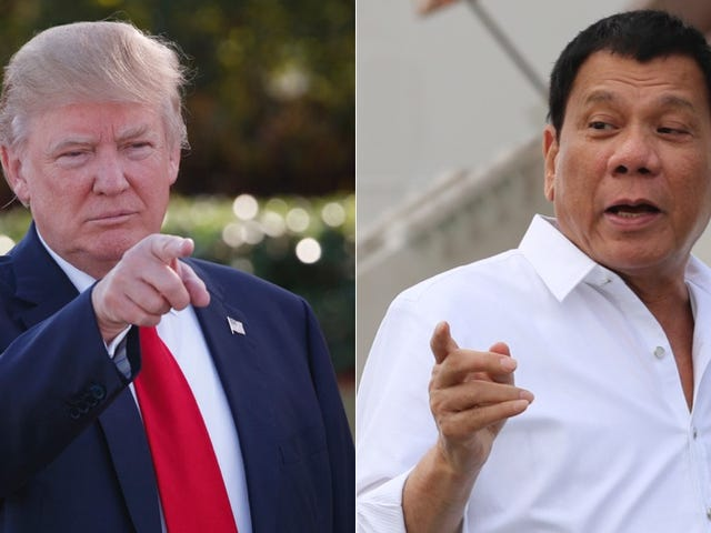 Trump Has 'Animated' Conversation With Murder-Friendly Philippine President Rodrigo Duterte
