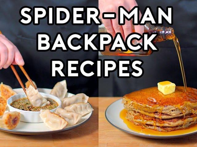 Chefkoch Andrew Rea von Binging With Babish hat einige der besten Rezepte von Spider-M nachgebaut