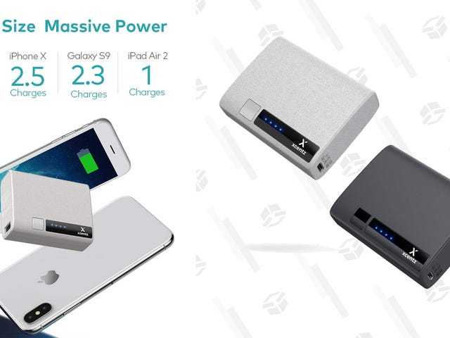 Este paquete de baterías de $ 15 10,000mAh incluye suministro de energía USB-C [Exclusivo]