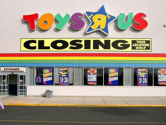 ดูว่า Toys 'R' Us ของคุณเป็นหนึ่งใน 180 ร้านที่กำลังปิดอยู่