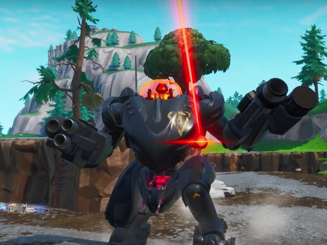 Fortnite Nerfed The Mech