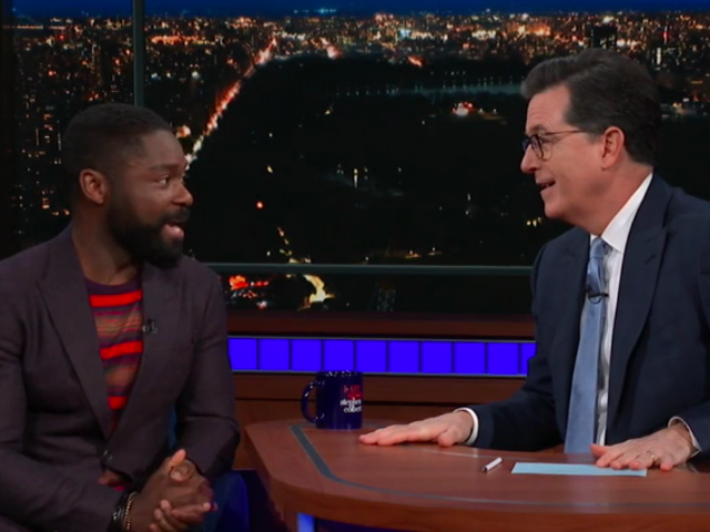 Actual Nigerian prince David Oyelowo talks fictional African kings and President Shithole on The Late Show