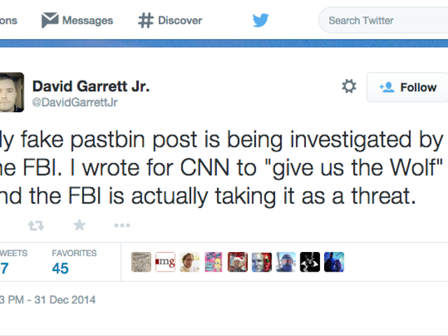 The FBI Thought This Guy's Joke Was a Legit Threat to CNN