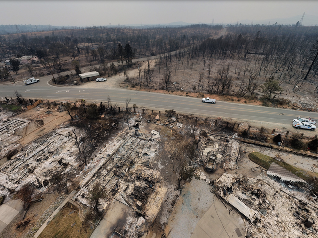 Aerial Photos Reveal the True Horror of the Carr Fire