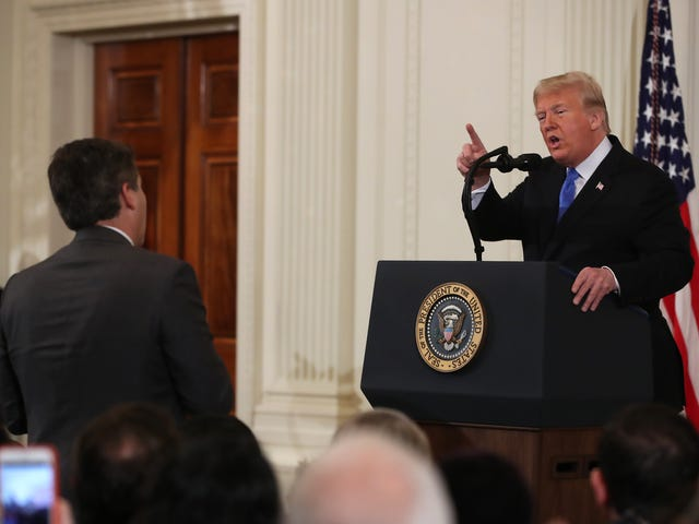 Trump Just Held a Disastrous Press Conference; Fought With a CNN Correspondent and Called Black Reporter's Question Racist