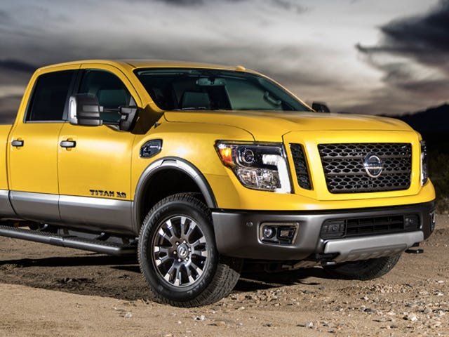 The Nissan Titan XD Is The Cheapest Cummins Diesel Crew Cab 4WD At $43,290