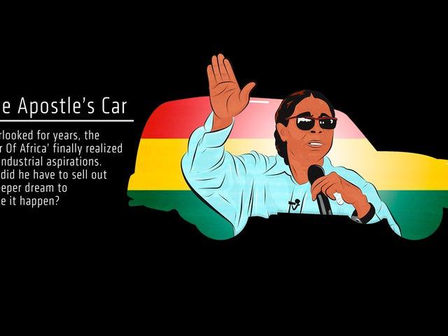 De levende apostel die de media op de mythe van 'Ghana's First Car' verkocht