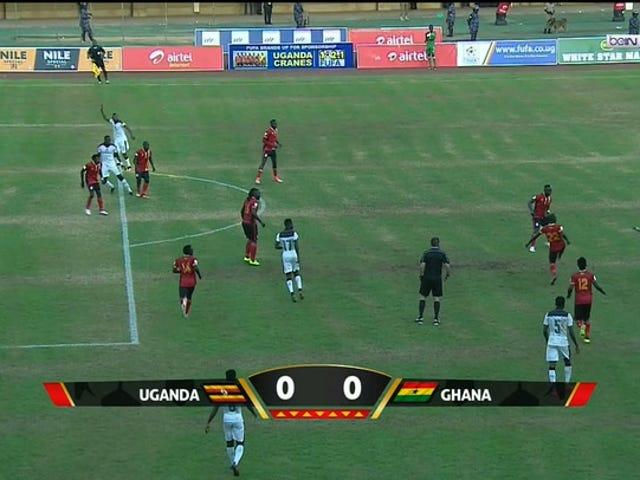 Gana eliminou eficazmente as eliminatórias da Copa do Mundo