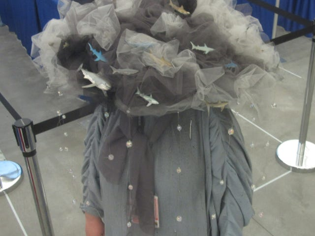Sharks and Aliens at Comic Con