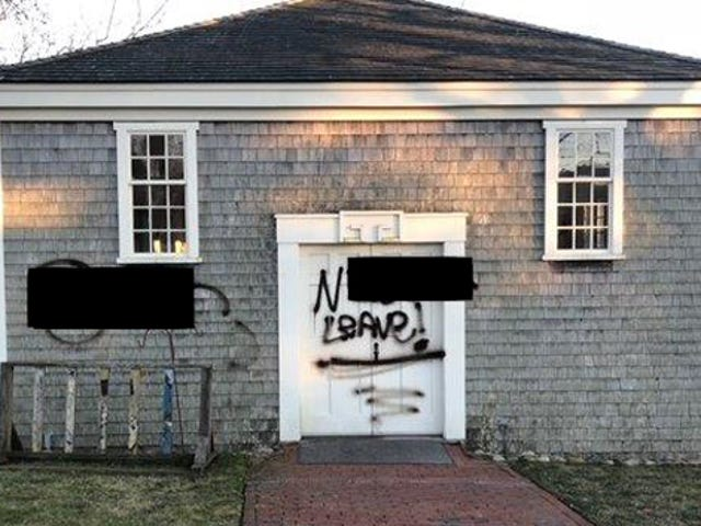 Police Searching for Troglodyte Who Spray-Painted Racial Slur on Historic African-American Building