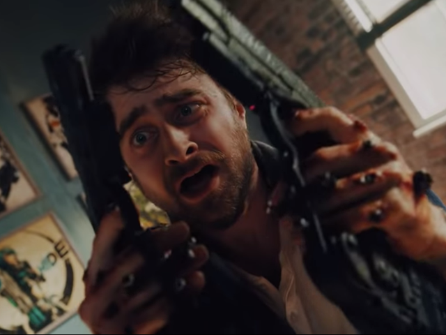 Daniel Radcliffe is a loser with gun hands in this loony trailer for Guns Akimbo